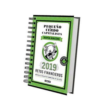 portada Pequeño Cerdo Capitalista. Libroagenda Retos Financieros 2019