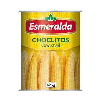 portada CHOCLITOS COCKTAIL (425g) marca Esmeralda