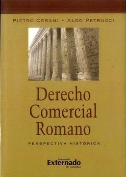 portada DERECHO COMERCIAL ROMANO