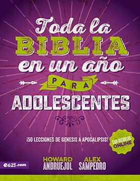 portada Toda La Biblia En Un Ano Para Adolescentes