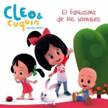 portada Cleo y Cuquín - el Fantasma de los Tomates