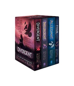 portada Divergent Series box set (Books 1-4) (libro en inglés)