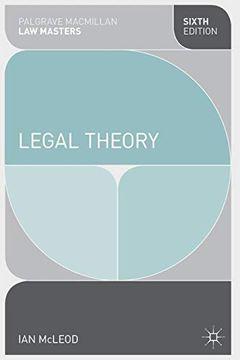 portada Legal Theory (Macmillan law Masters) (libro en Inglés)
