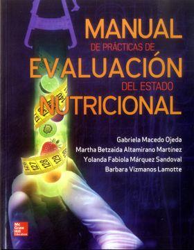 portada Manual de Practicas de Evaluacion del Estado Nutricional