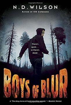 portada Boys of Blur (libro en Inglés)