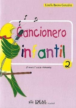 portada Cancionero Infantil, 2 (RM Pedag.Educacion)