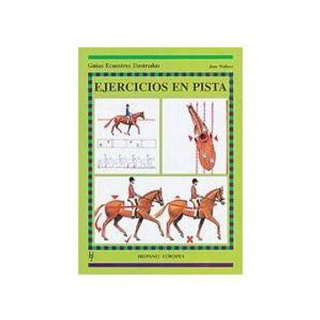 portada Ejercicios en Pista (Guías Ecuestres Ilustradas)