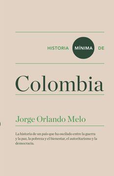 portada Historia Mínima de Colombia