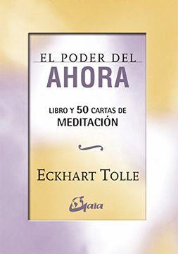 portada El Poder del Ahora: 50 Cartas de Meditación