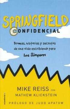 portada Springfield Confidencial