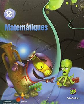 portada Matematiques 2º Primaria (Tres Trimestres) (Superpixépolis)