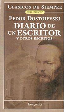 portada Diario de un Escritor y Otros Escritos