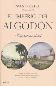 portada Imperio del Algodon, el. Una Historia Global