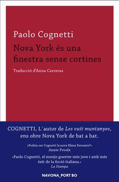 portada Nova York És Una Finestra Sense Cortines (libro en catalan)