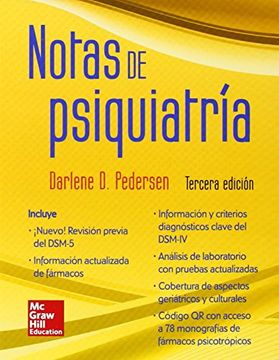 portada Notas de Psiquiatria