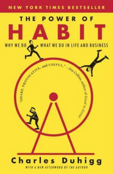 portada The Power of Habit: Why we do What we do in Life and Business (libro en Inglés)