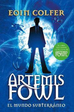 portada El Mundo Subterraneo - Artemis Fowl 1