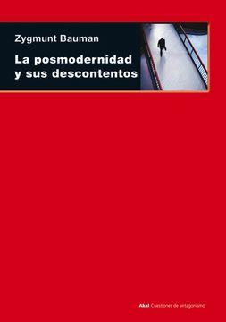portada La Posmodernidad y sus Descontentos