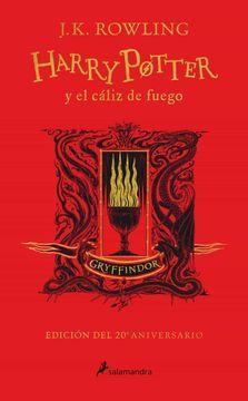 portada Harry Potter y el Cáliz de Fuego (Edición Gryffindor de 20º Aniversario) (Harry Potter 4)