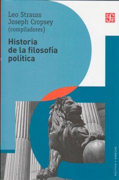 portada Historia de la Filosofía Política