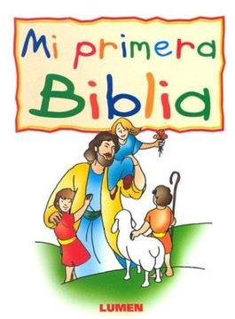 portada Mi Primera Biblia Rustica