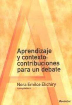 portada Aprendizaje y Contexto Contribuciones Para un Debate