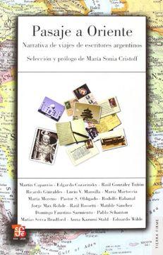 portada Pasaje a Oriente. Narrativa de Viajes de Escritores Argentinos