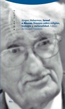 portada Israel o Atenas: Ensayos Sobre Religión, Teología y Racionalidad (Minima Trotta)