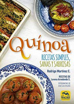 portada Quínoa: Recetas Simples, Sanas y Sabrosas: 8 (Cocinar Naturalmente)