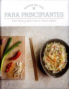 portada Recetas del Chef: Para Principiantes