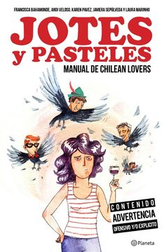 portada Jotes y Pasteles. Manual de Chilean Lovers