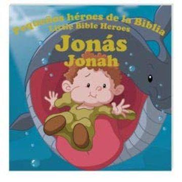 portada Pequeños Héroes de la Biblia, Bilingüe, Jonás