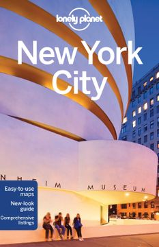 portada Lonely Planet new York City (Travel Guide) (libro en Inglés)