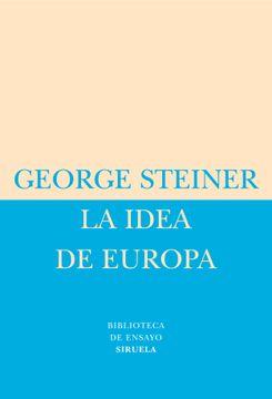portada La Idea de Europa