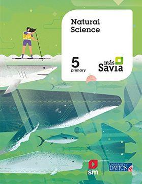 portada NATURAL SCIENCE 5PRIM EJER MAS SAVIA (libro en Inglés)
