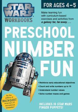 portada Star Wars Workbook: Preschool Number Fun