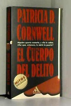 """portada El Cuerpo del Delito (""""Mitos Bolsillo"""") (Los jet de Plaza & Janes)"""