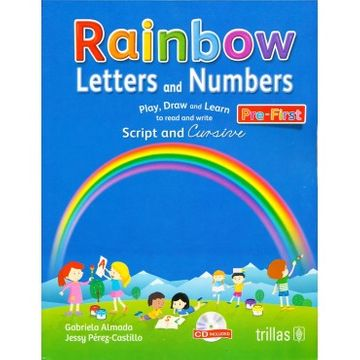 portada Rainbow Letters and Numbers