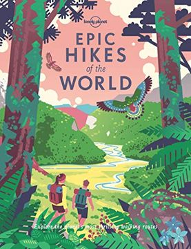 portada Epic Hikes of the World (Lonely Planet) (libro en Inglés)