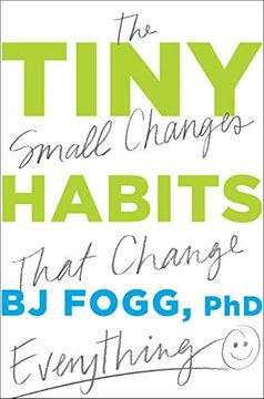 portada Tiny Habits: The Small Changes That Change Everything (libro en Inglés)