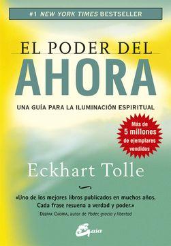 portada El Poder del Ahora: Una Guía Para la Iluminación Espiritual