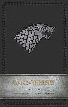 portada Game of Thrones: House Stark Hardcover Ruled Journal (libro en Inglés)