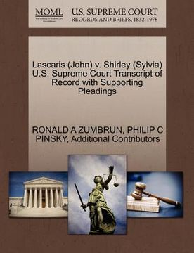 portada lascaris (john) v. shirley (sylvia) u.s. supreme court transcript of record with supporting pleadings