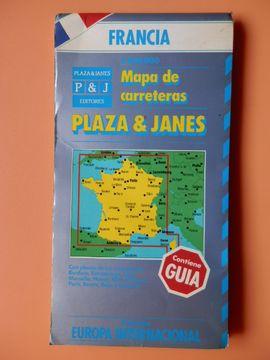 portada Mapa De Carreteras Plaza & Janés. Colección Europa Internacional, Francia