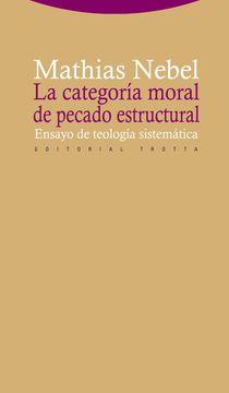 portada La Categoría Moral de Pecado Estructural