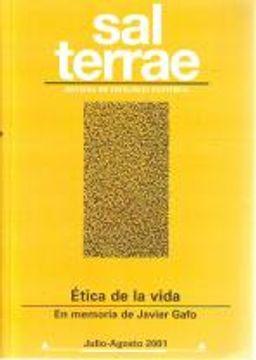 portada Sal Terrae, Revista De Teología Pastoral. Julio - Agosto 2001. Tomo 89 / 7 (N. 1047)