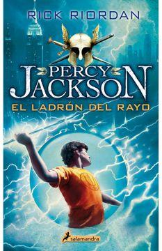 portada Percy Jackson Dioses del Olimpo 1 - el Ladron del Rayo