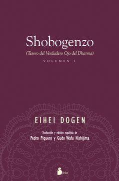 portada Shobogenzo Volumen 3: Tesoro del Verdadero ojo del Dharma (Espiritualidad (Sirio))
