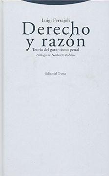 portada Derecho y Razon: Teoria del Garantismo Penal