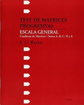 portada Test de Matrices Progresivas Escala General